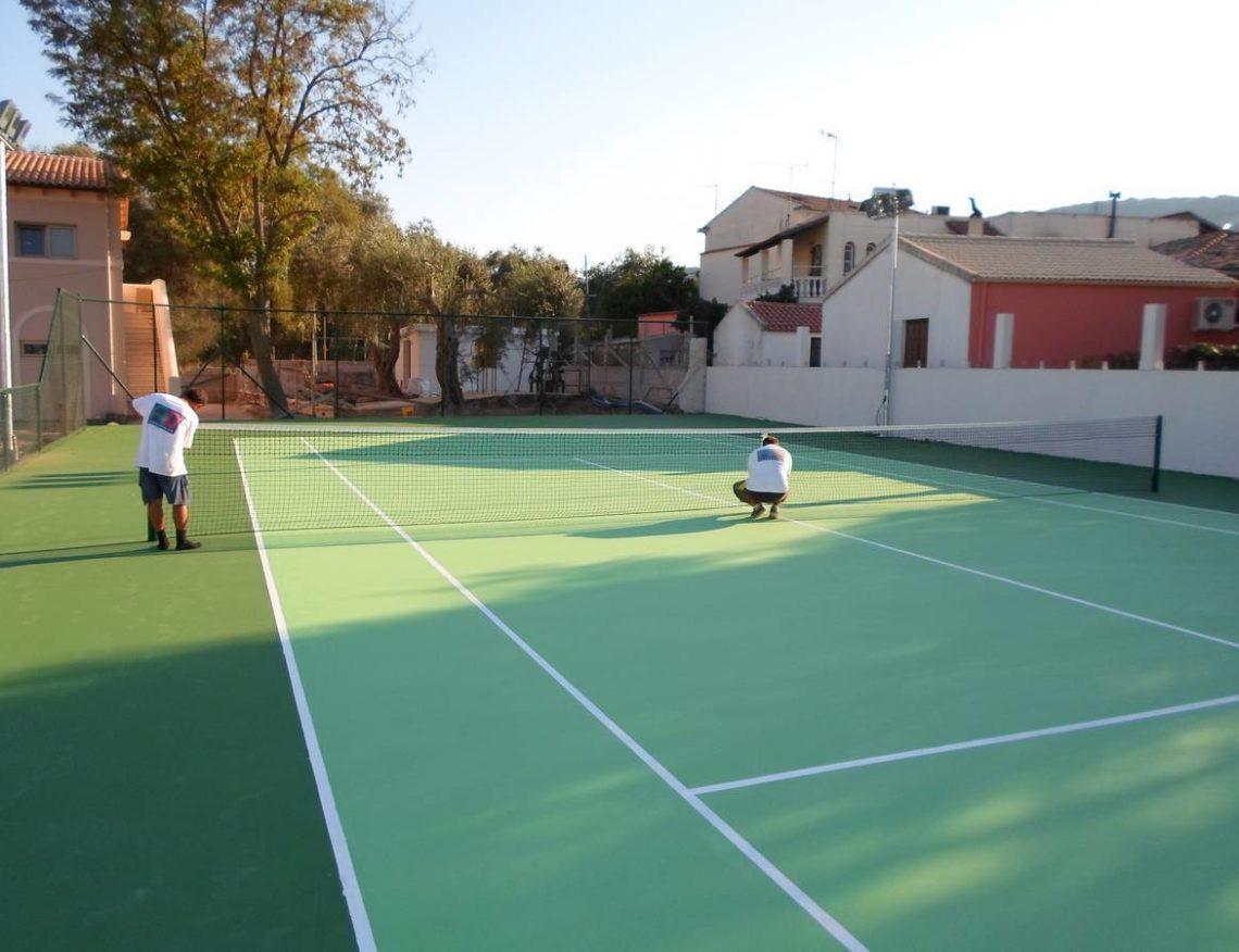 Γήπεδο τένις στο ξενοδοχείο Miramare στην Κέρκυρα – Athlodomiki 601e7d9c7ec